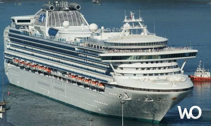 Diamond Princess Gemisinde Karantinaya Alınan Yolculara 2 Bin İphone Dağıtıldı