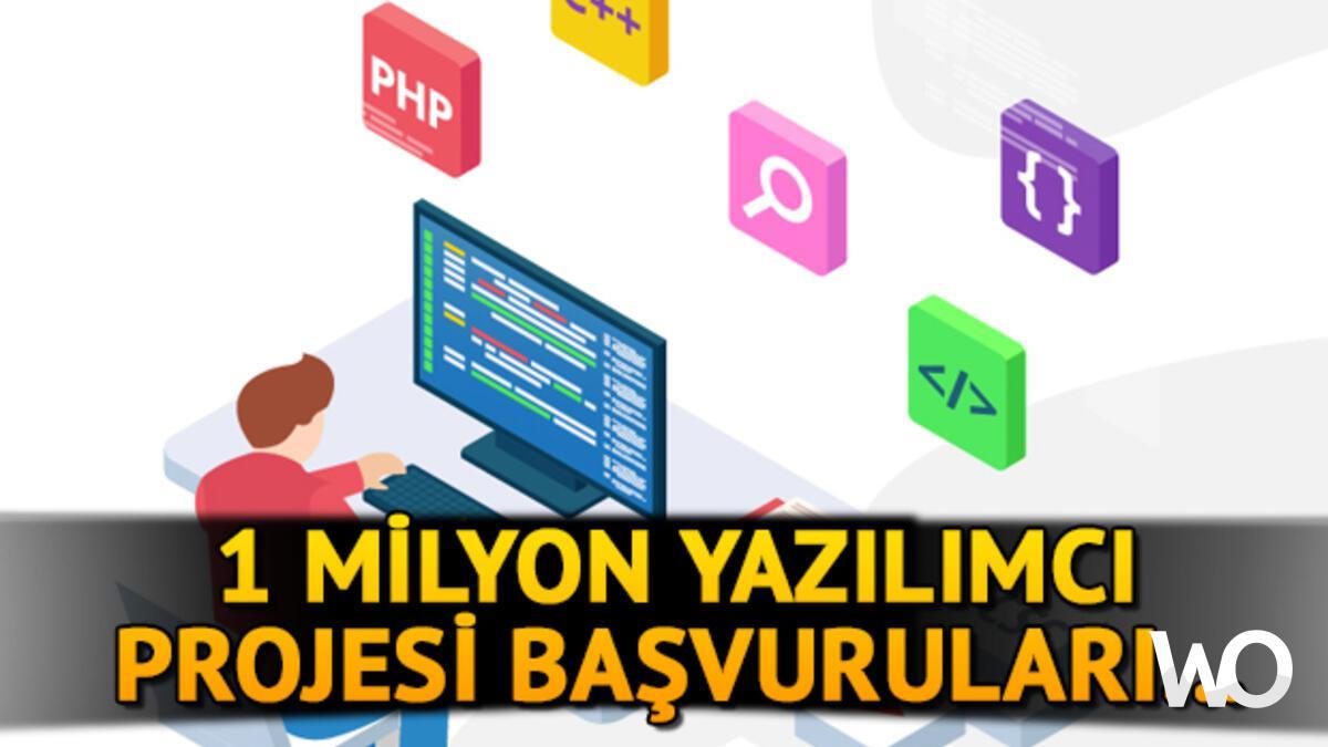1 Milyon Yazılımcı İstihdam Projesi
