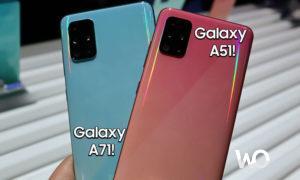 Samsung Yeni Telefonları Olan A51 5G ve A71 5G'yi Tanıttı