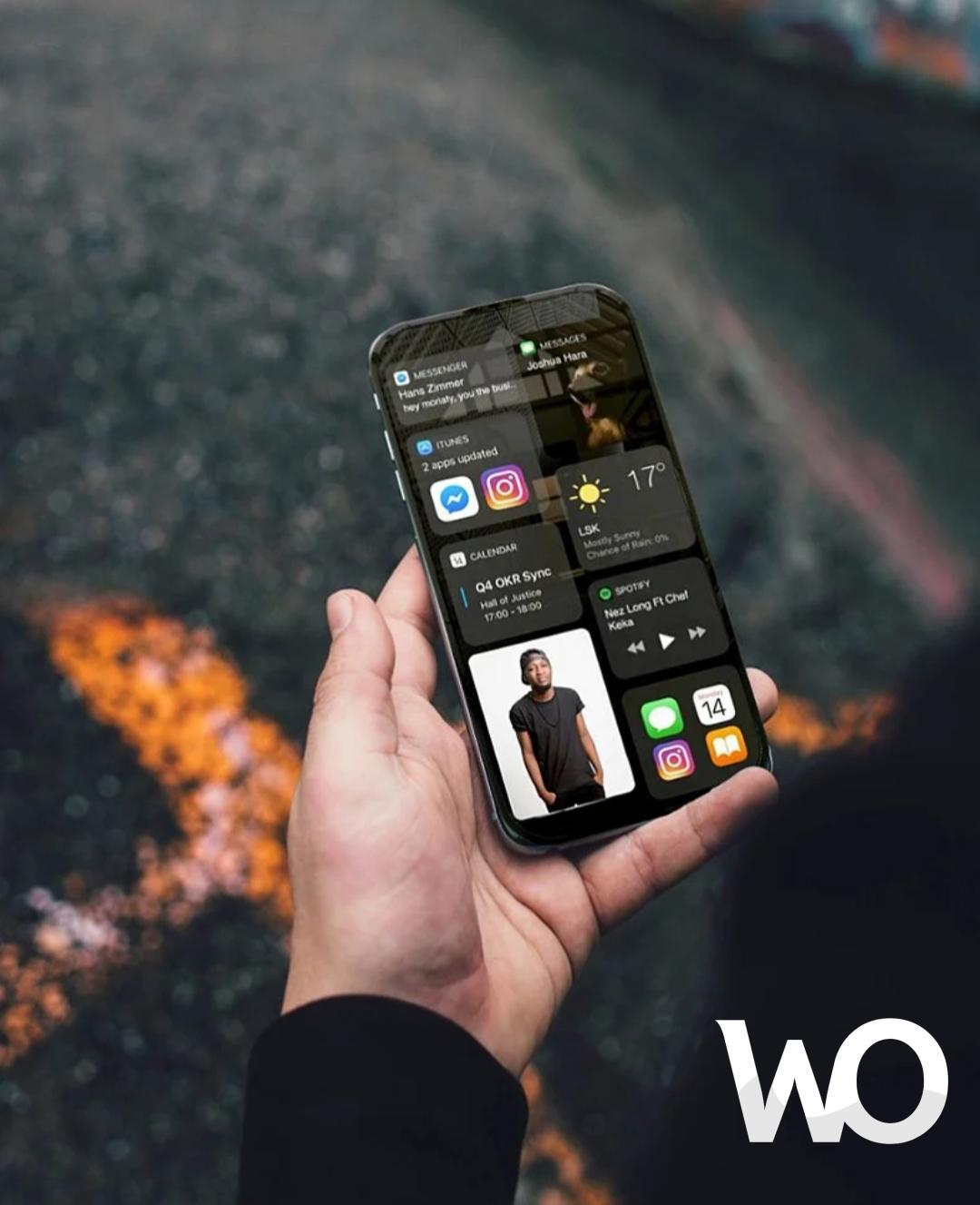 Ekranı Tamamen Yatay Dönebilen Yeni Iphone 14 Tasarımı Nasıl Olucak ?