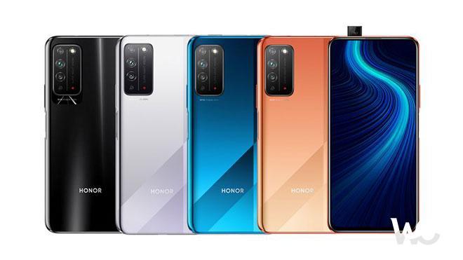 İşte Honor X10'un Renk Seçenekleri- Kamera Detayıyla Huawei-Honor X10