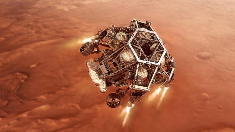 Dünyanın 2 gözü burada: Perseverance Mars'a indi