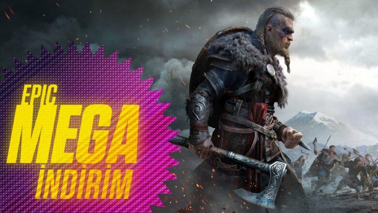 Epic Games'den MEGA İndirim + Herkese 60 TL Değerinde Kupon!